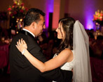Photo of father and daughter dance